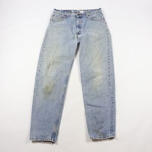 90s Levis Mens 36x34 Relaxed Fit Tapered Leg Jeans